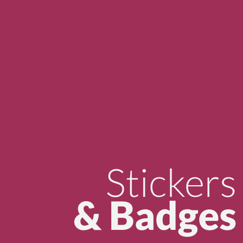 Stickers & Badges